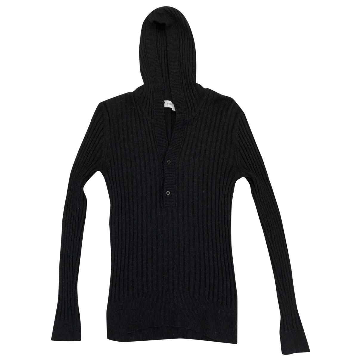 Paul & Joe \N Pullover.Westen.Sweatshirts  in  Grau Wolle