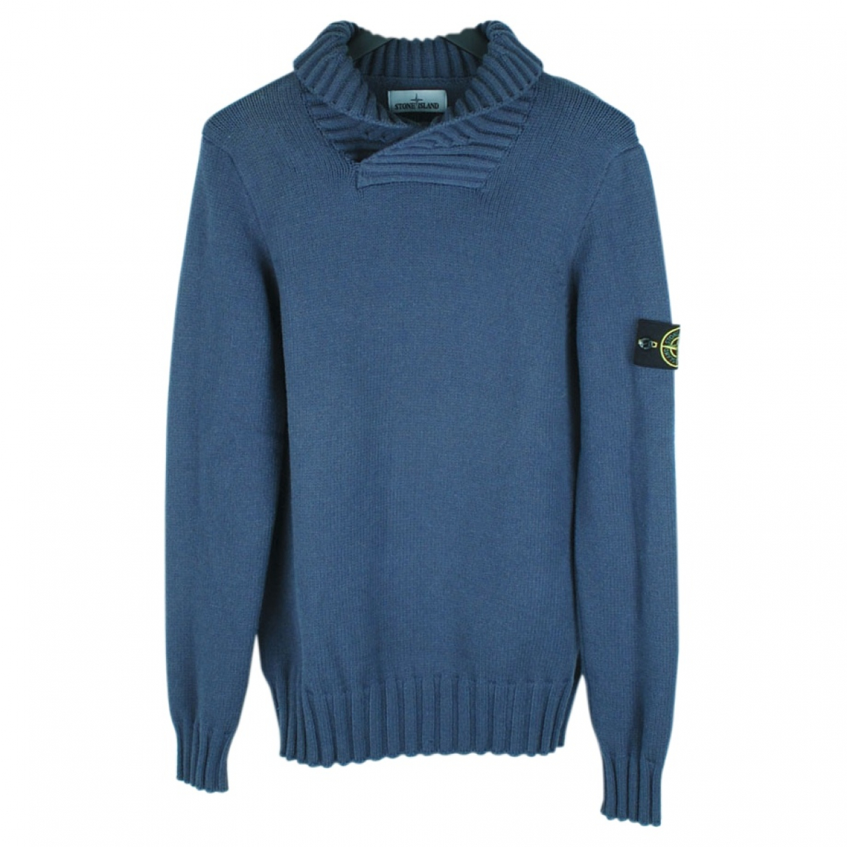 Stone Island \N Blue Wool Knitwear & Sweatshirts for Men XL International
