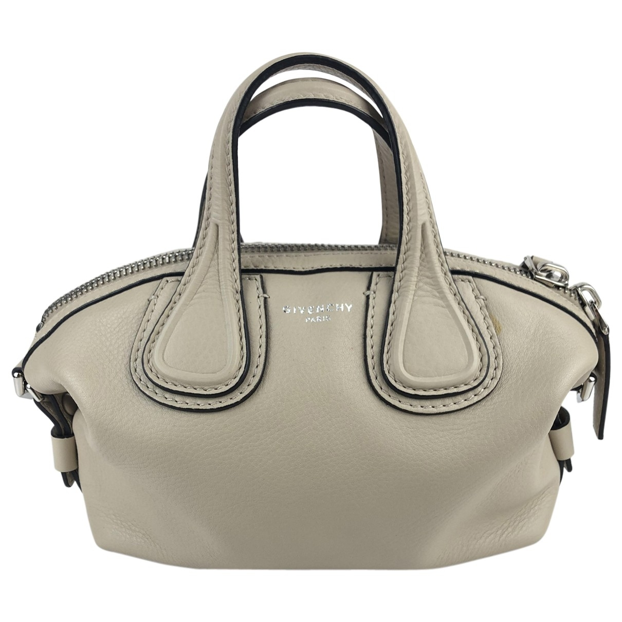 Givenchy Nightingale Beige Leather handbag for Women \N