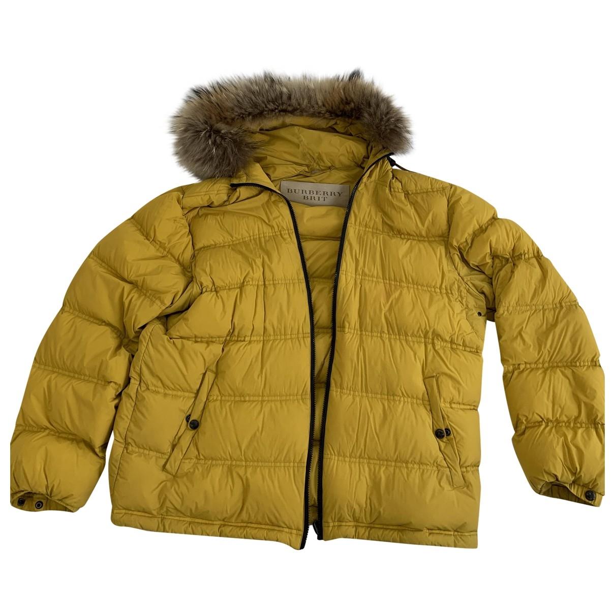 Burberry \N Yellow coat  for Men XL International