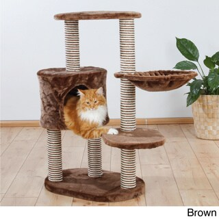 TRIXIE Moriles Cat Tree (Brown)
