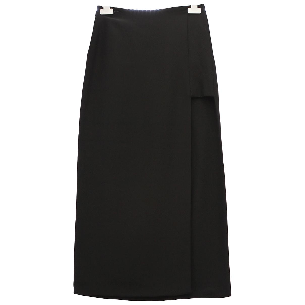 Versace - Jupe   pour femme en soie - noir