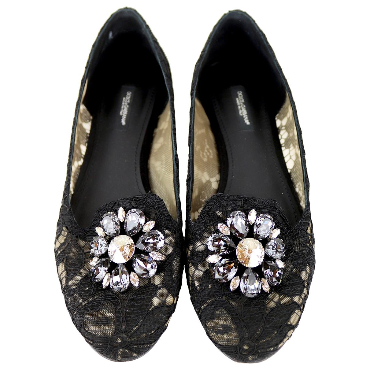Bailarinas de Lona Dolce & Gabbana