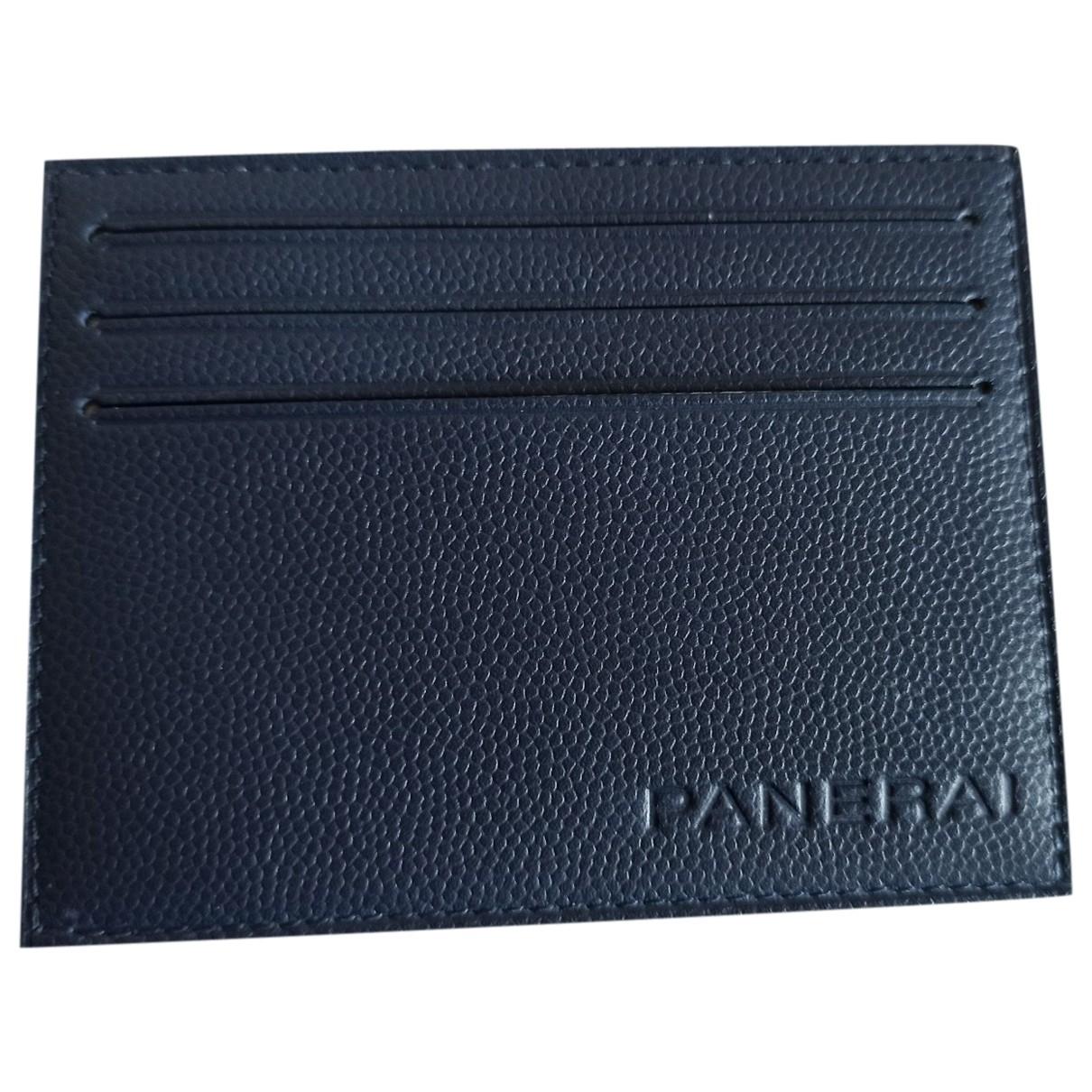 Panerai - Petite maroquinerie   pour homme en cuir - bleu
