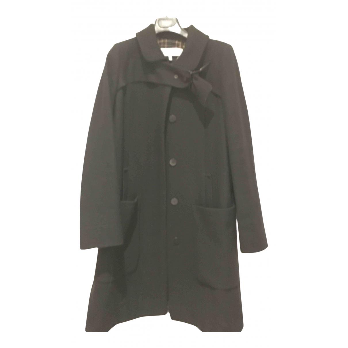 See By Chloé N Black Wool coat for Women 44 FR