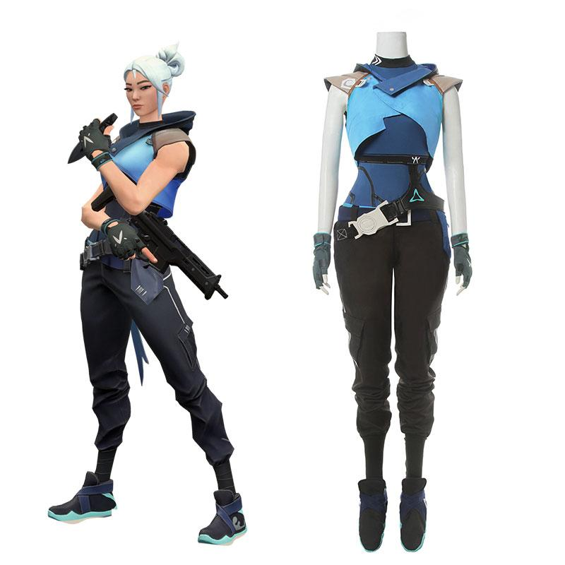 Game Valorant Project A Cosplay Jett Cosplay Costume