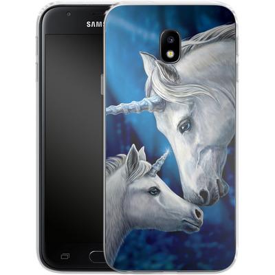 Samsung Galaxy J3 (2017) Silikon Handyhuelle - Sacred Love von Lisa Parker