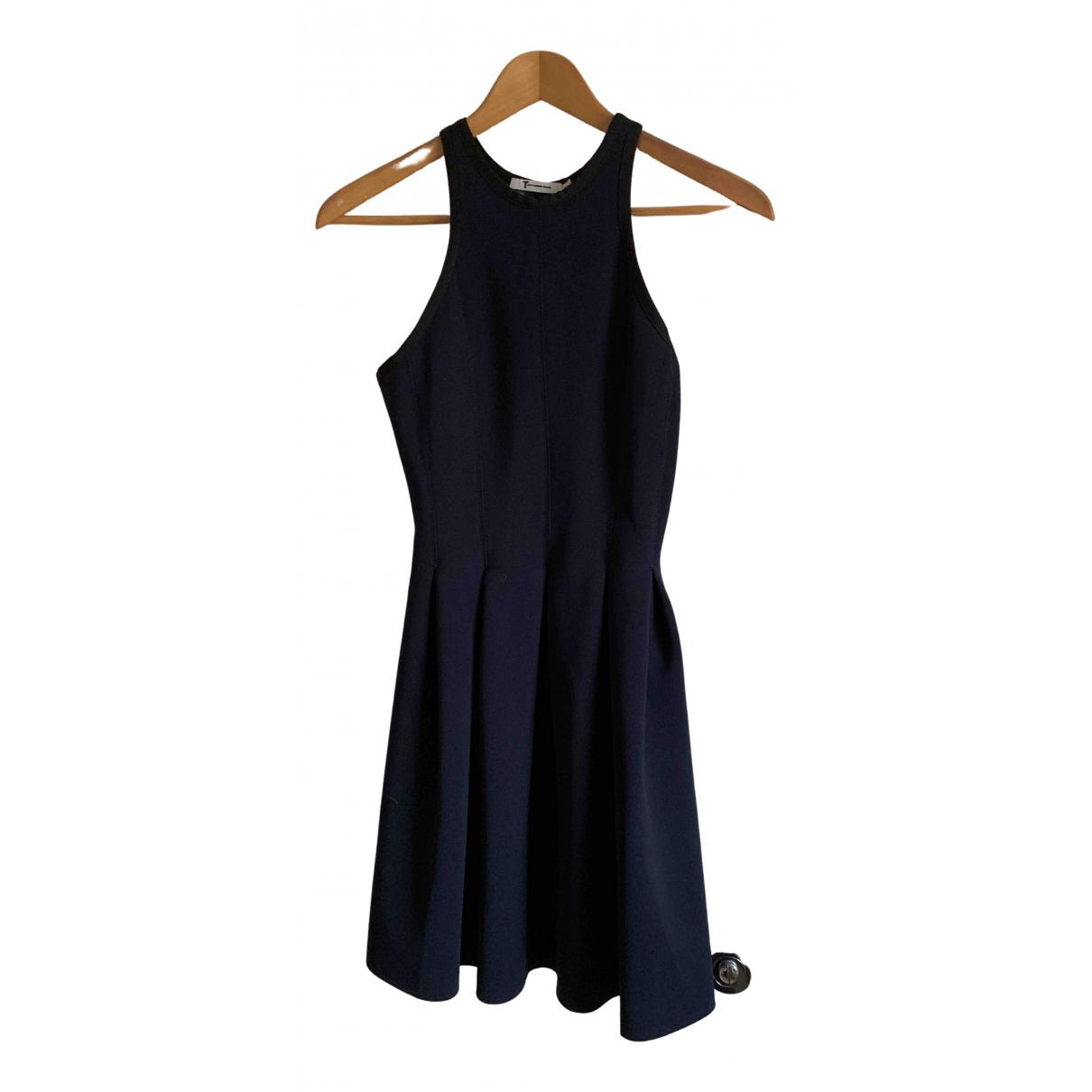 T By Alexander Wang N Navy dress for Women XS International