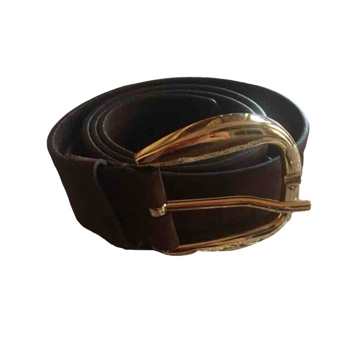 Gucci \N Purple Suede belt for Women 95 cm