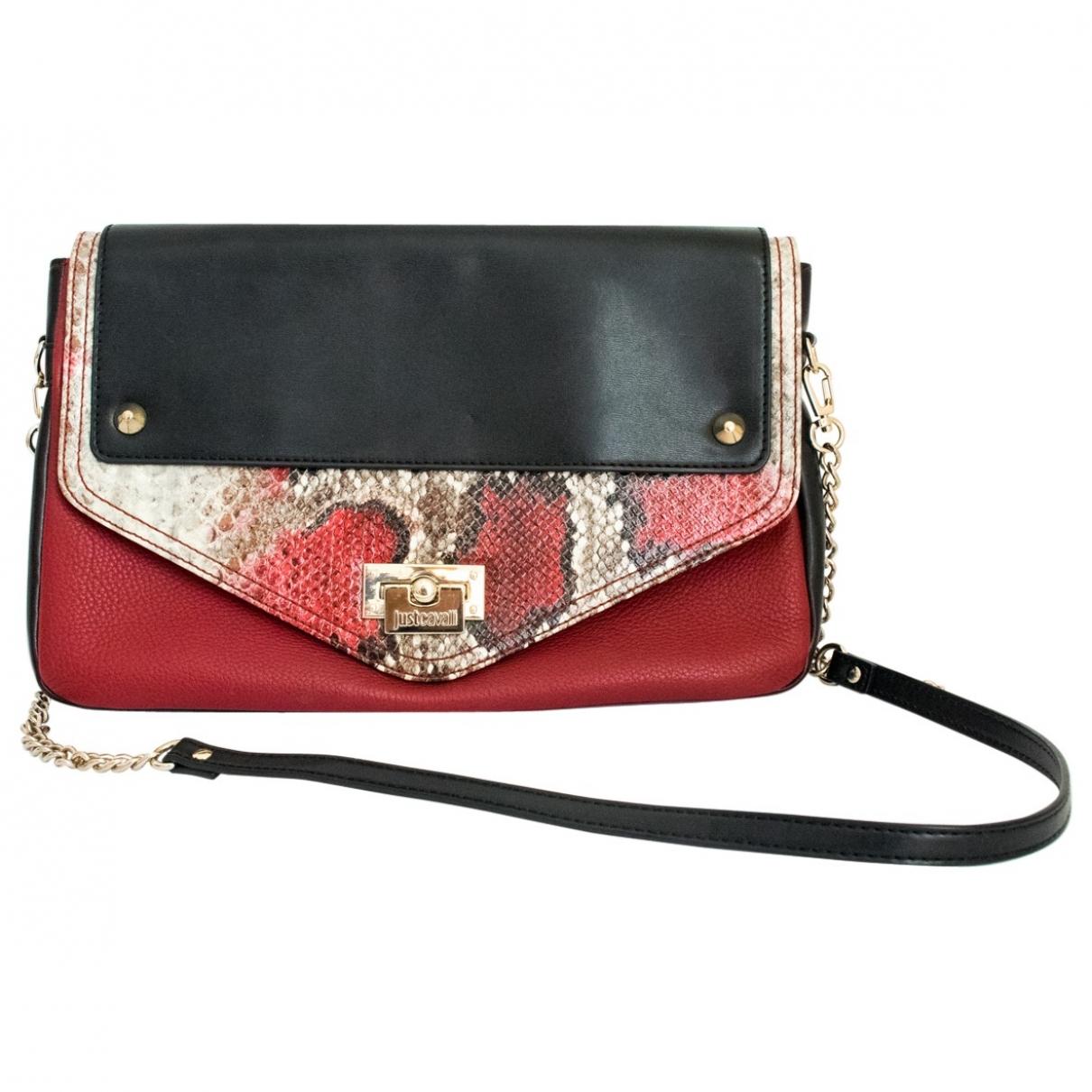 Just Cavalli \N Handtasche in  Rot Leder