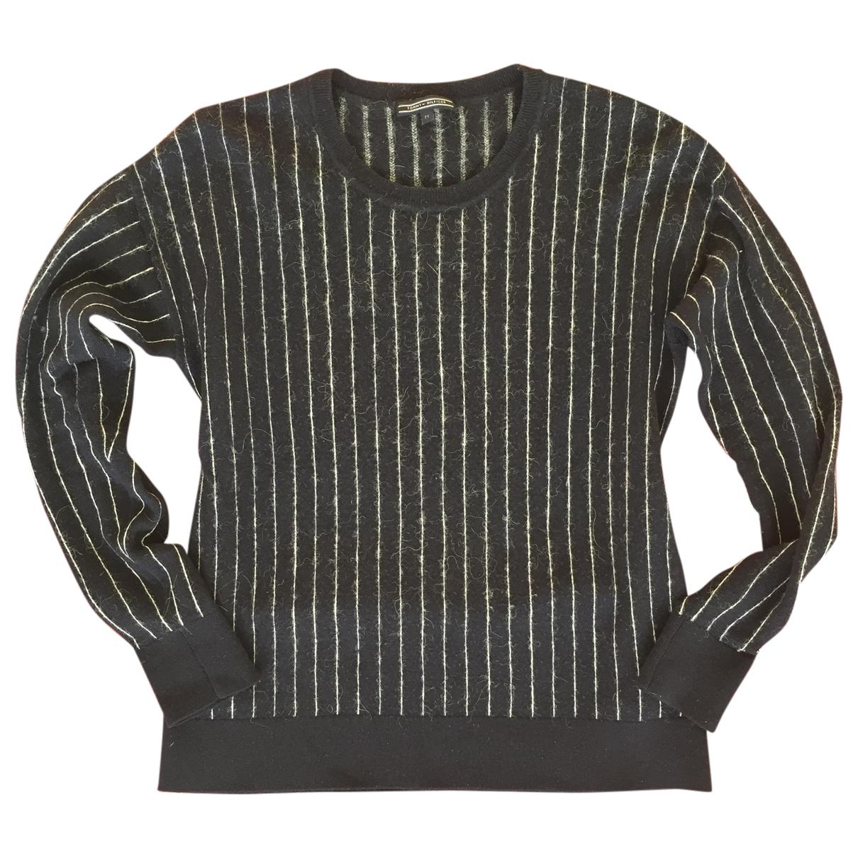 Tommy Hilfiger - Pull   pour femme en laine - marine