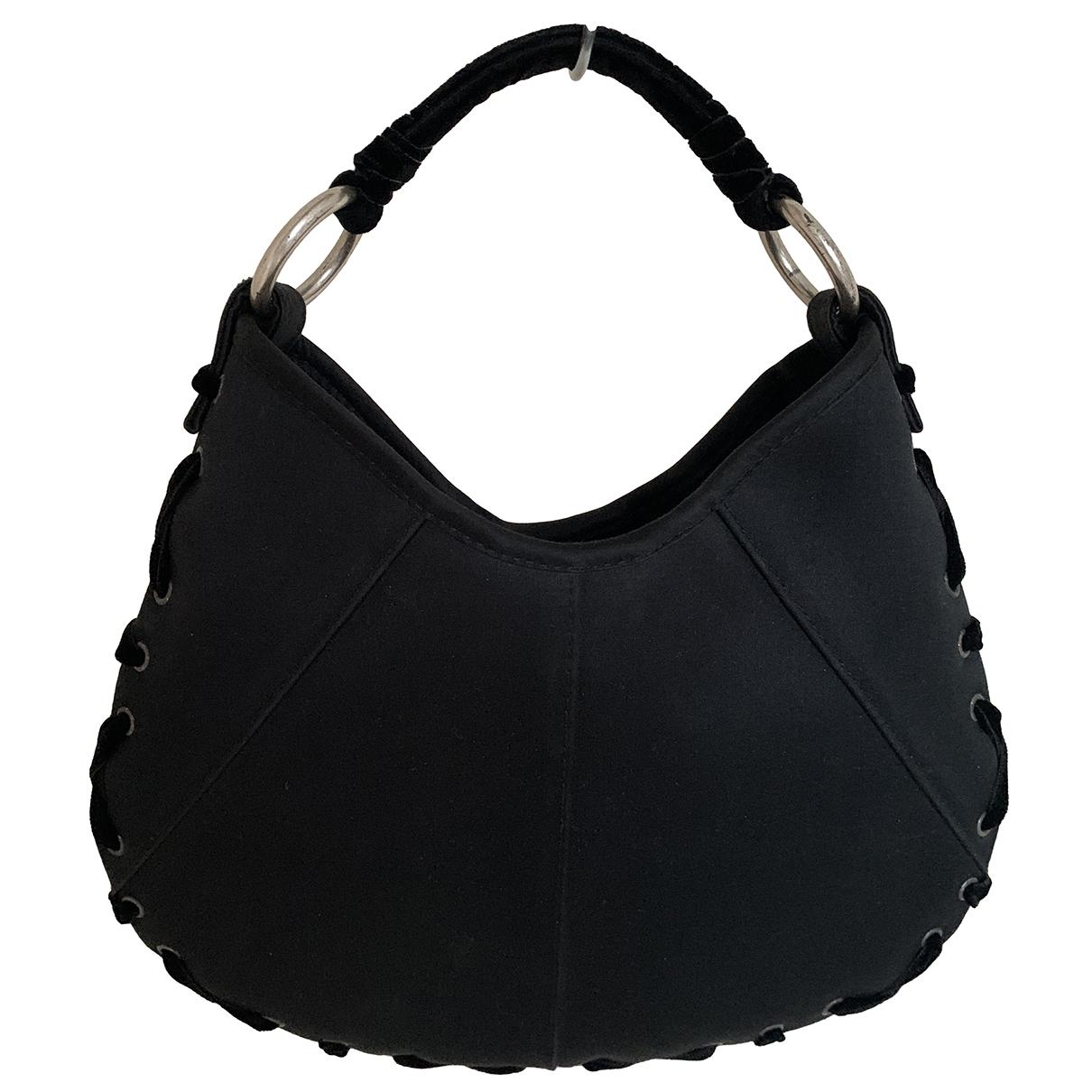 Yves Saint Laurent \N Handtasche in  Schwarz Seide