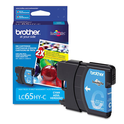 Brother MFC-5890CN Original Cyan Ink Cartridge, High Yield