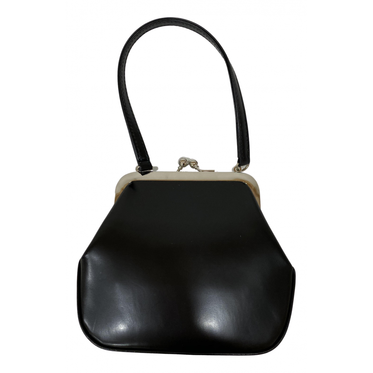 Comme Des Garcons N Black Leather handbag for Women N