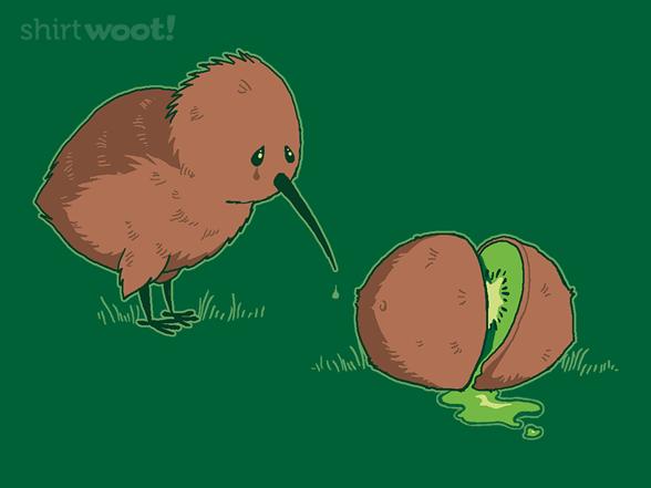 Lament Of The Kiwi T Shirt