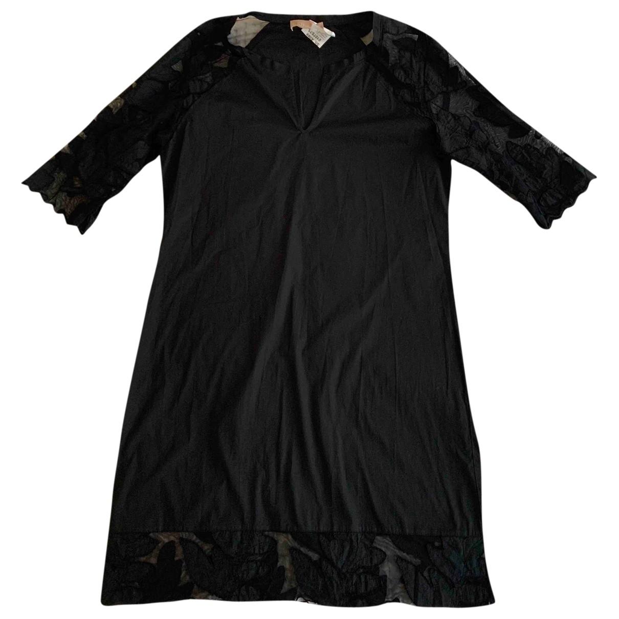 81hours \N Kleid in  Schwarz Baumwolle - Elasthan