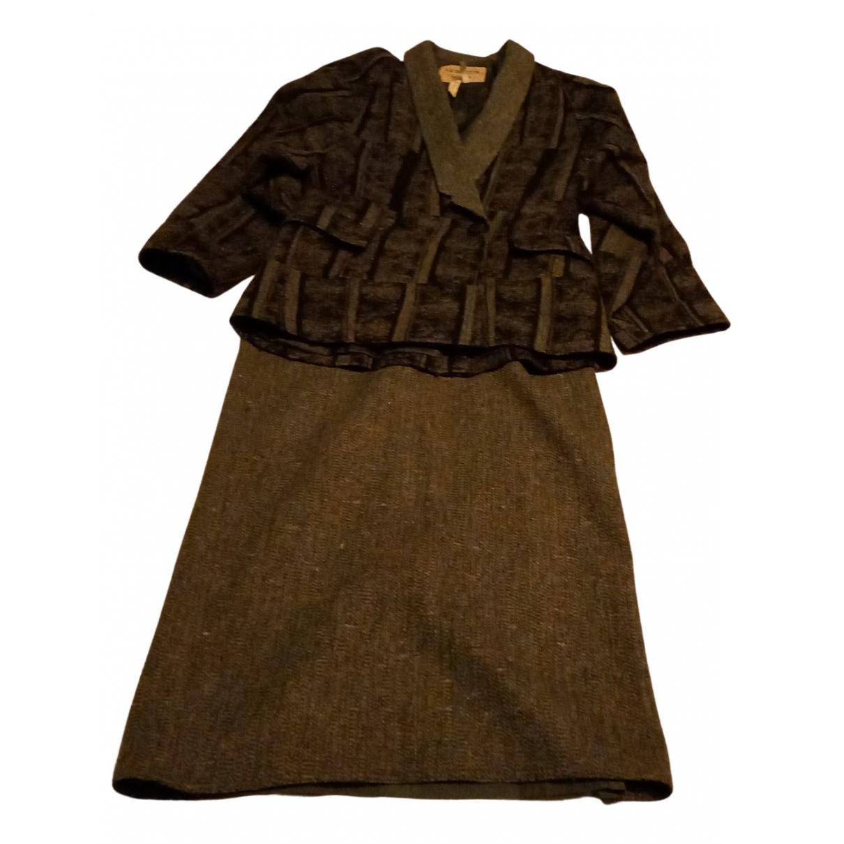 Anne-marie Beretta - Jupe   pour femme en laine - vert
