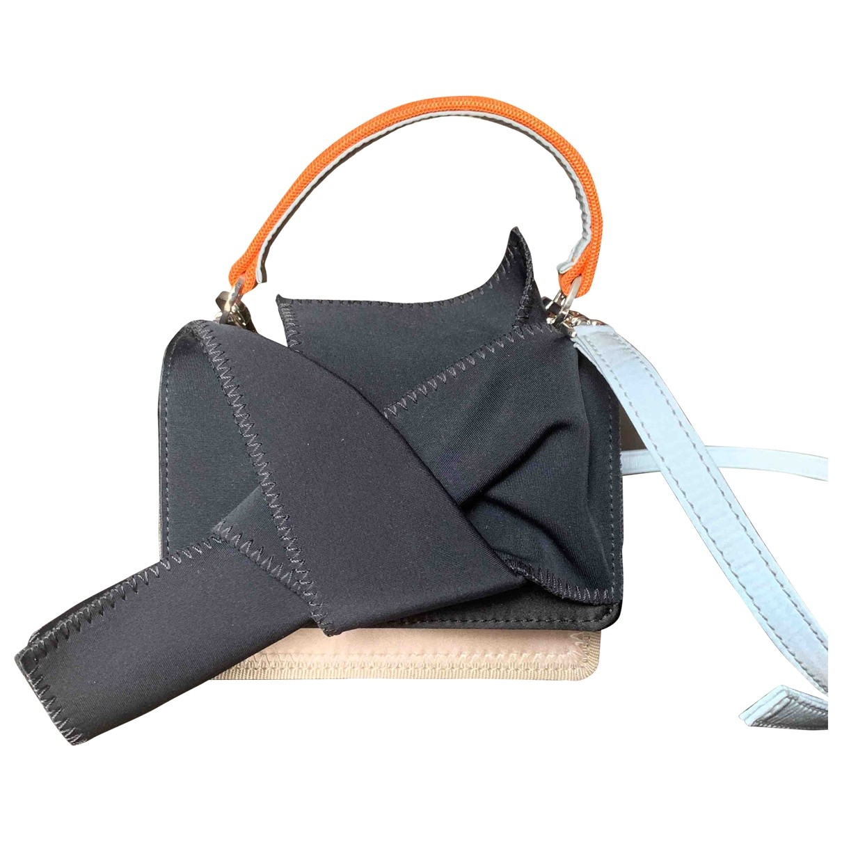 N°21 \N Black Silk handbag for Women \N