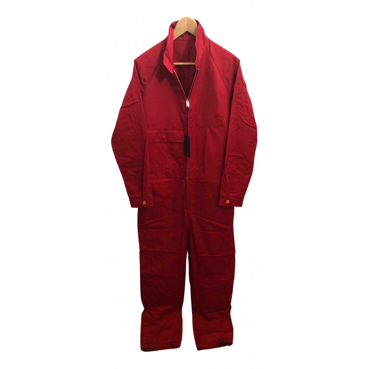 Prada - Costumes   pour homme en coton - rouge