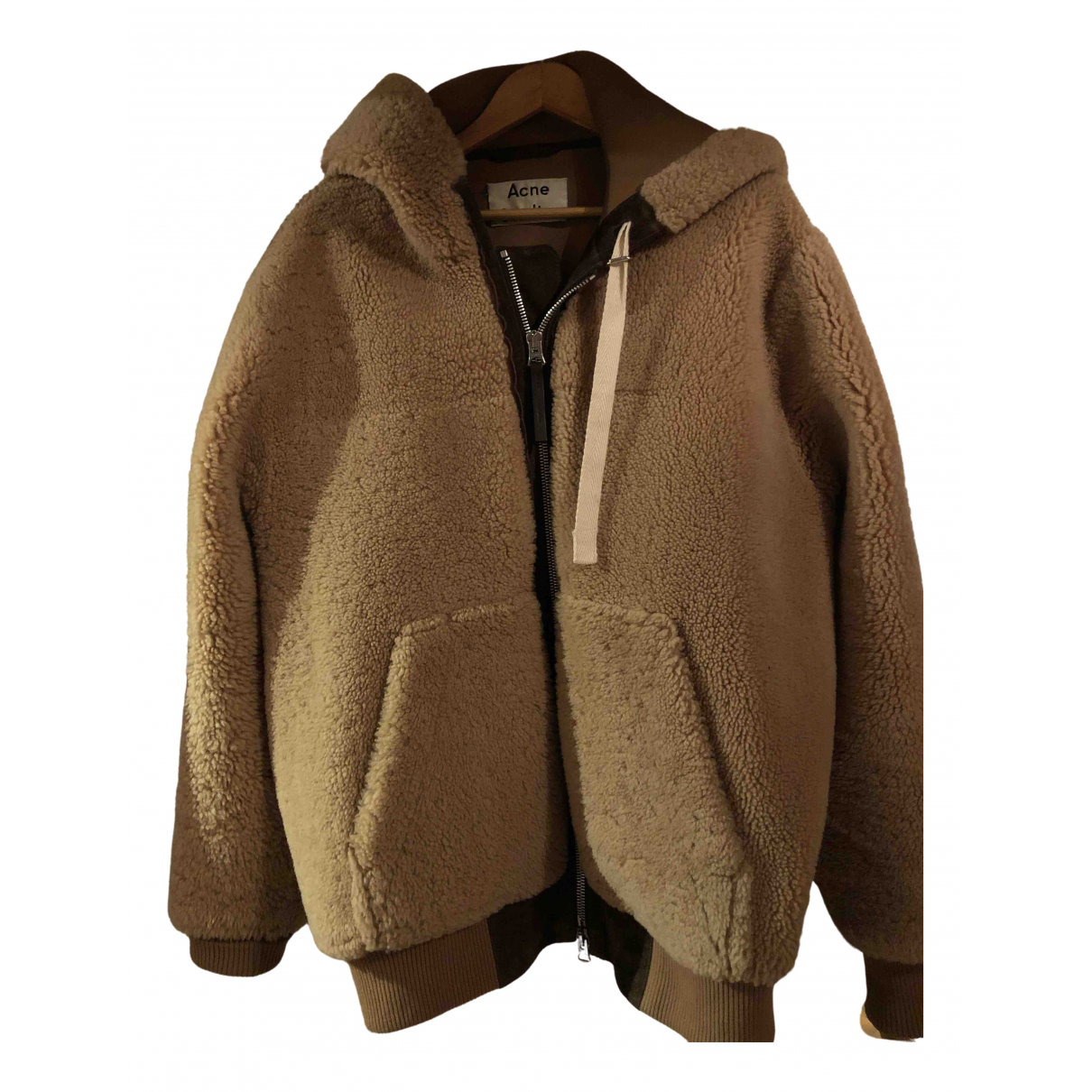 Acne Studios \N Camel Shearling jacket  for Men L International