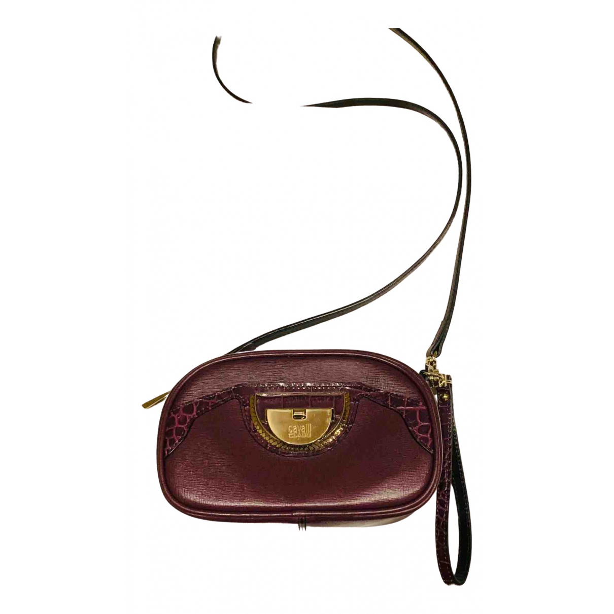 Class Cavalli \N Burgundy Leather handbag for Women \N