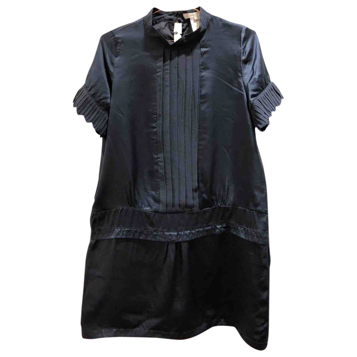 Paul & Joe Sister \N Blue Silk dress for Women 42 FR