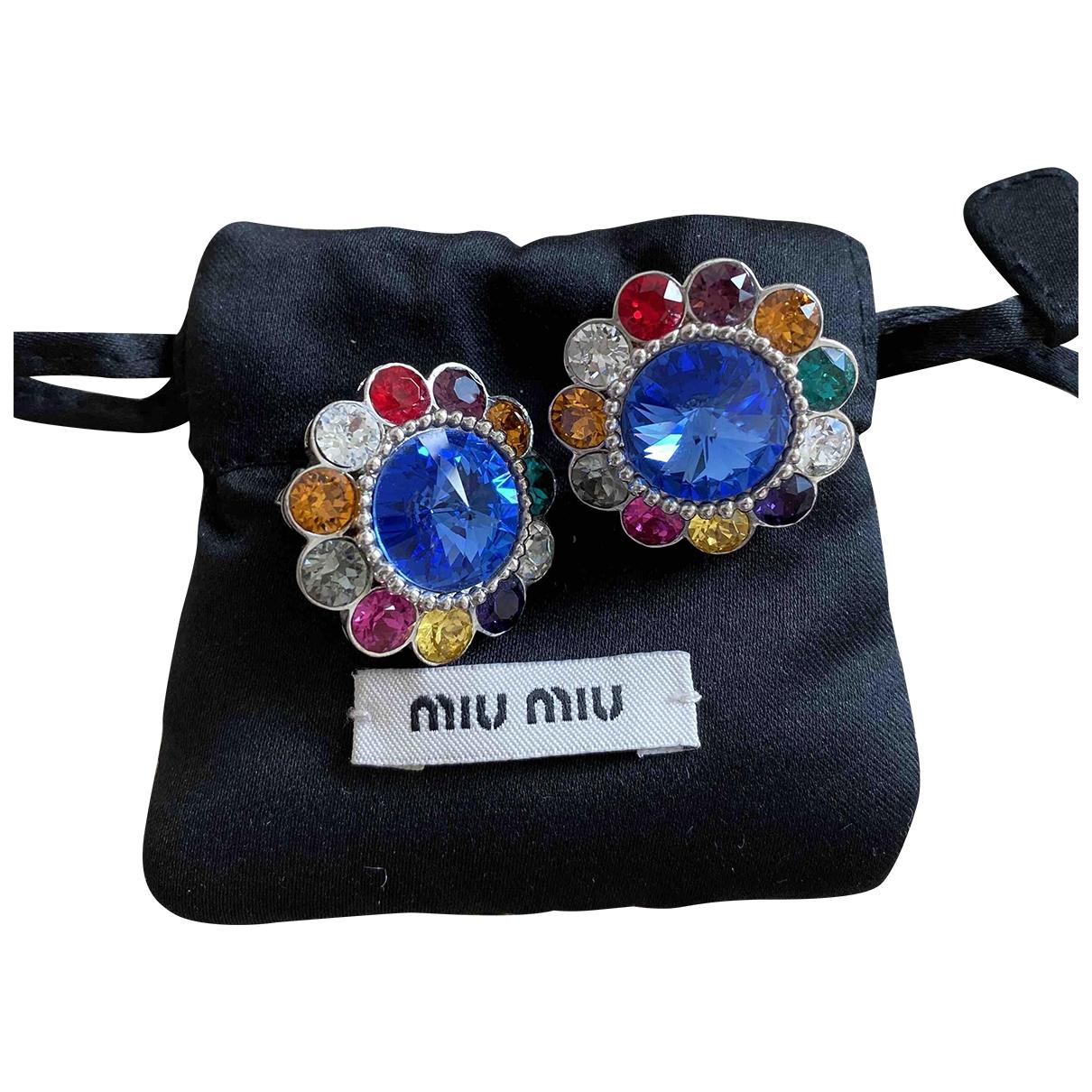 Miu Miu \N OhrRing in  Bunt Metall