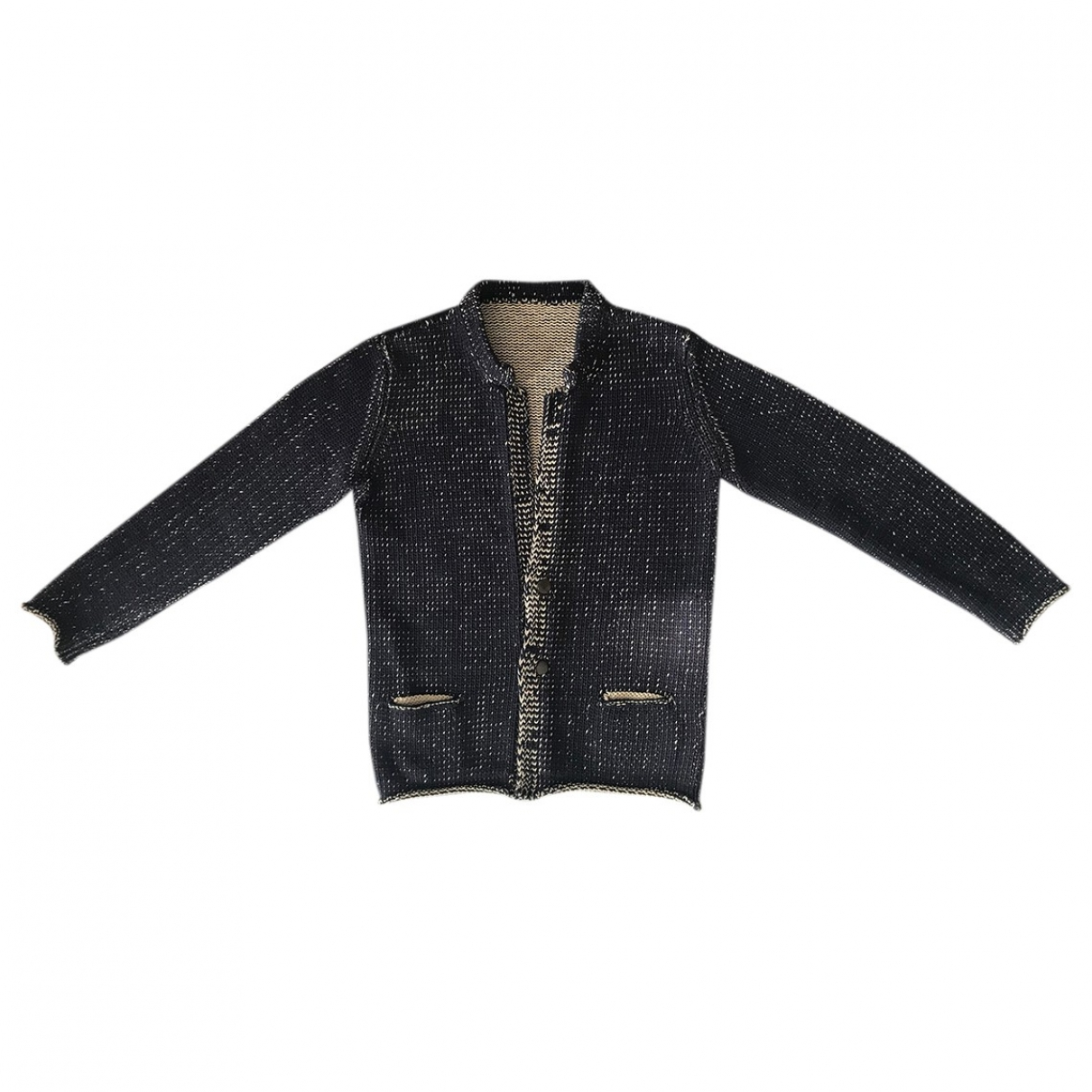 Roberto Collina \N Blue Cotton Knitwear & Sweatshirts for Men 50 IT