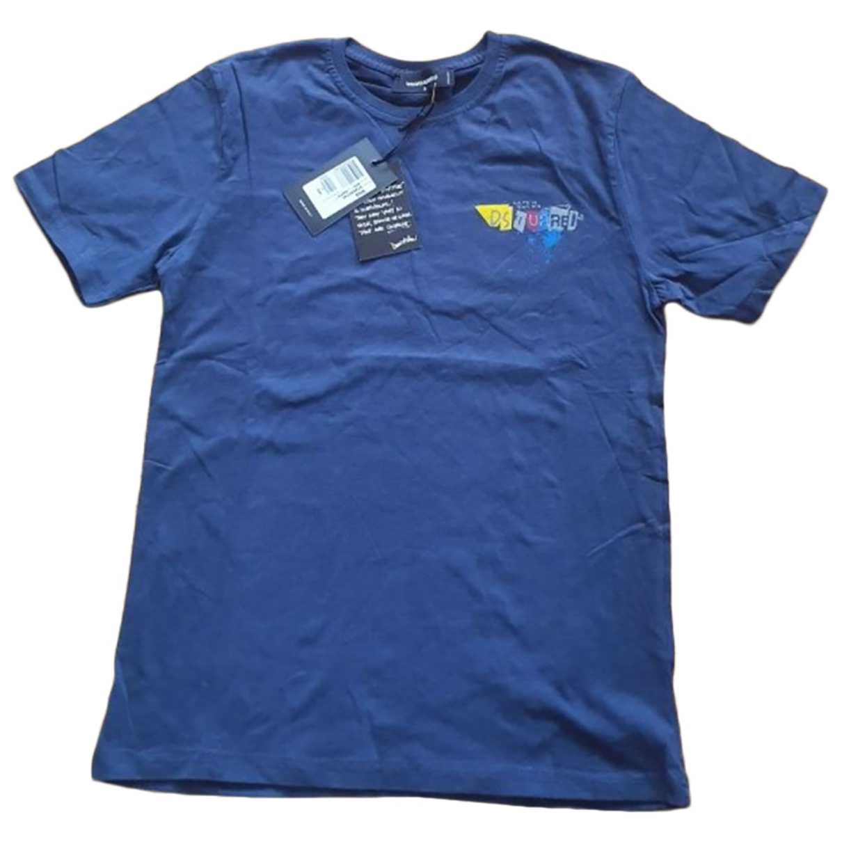 Dsquared2 N Blue Cotton T-shirts for Men S International