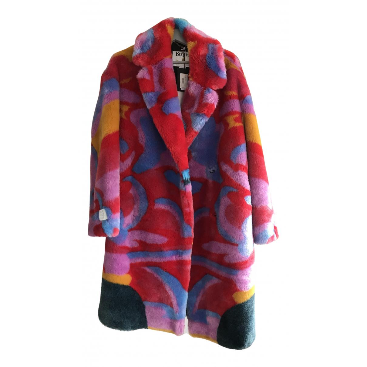 Stella Mccartney \N Multicolour Faux fur coat for Women 40 IT