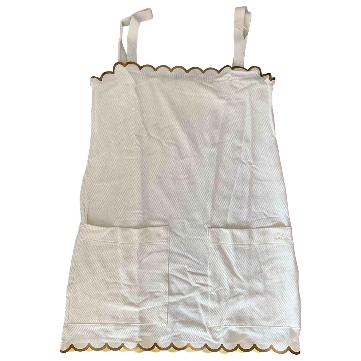 Chloé \N White dress for Women 42 IT