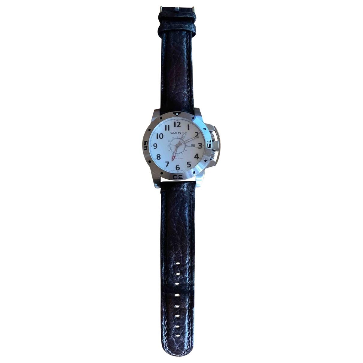 Gant Rugger \N Uhr in  Silber Stahl