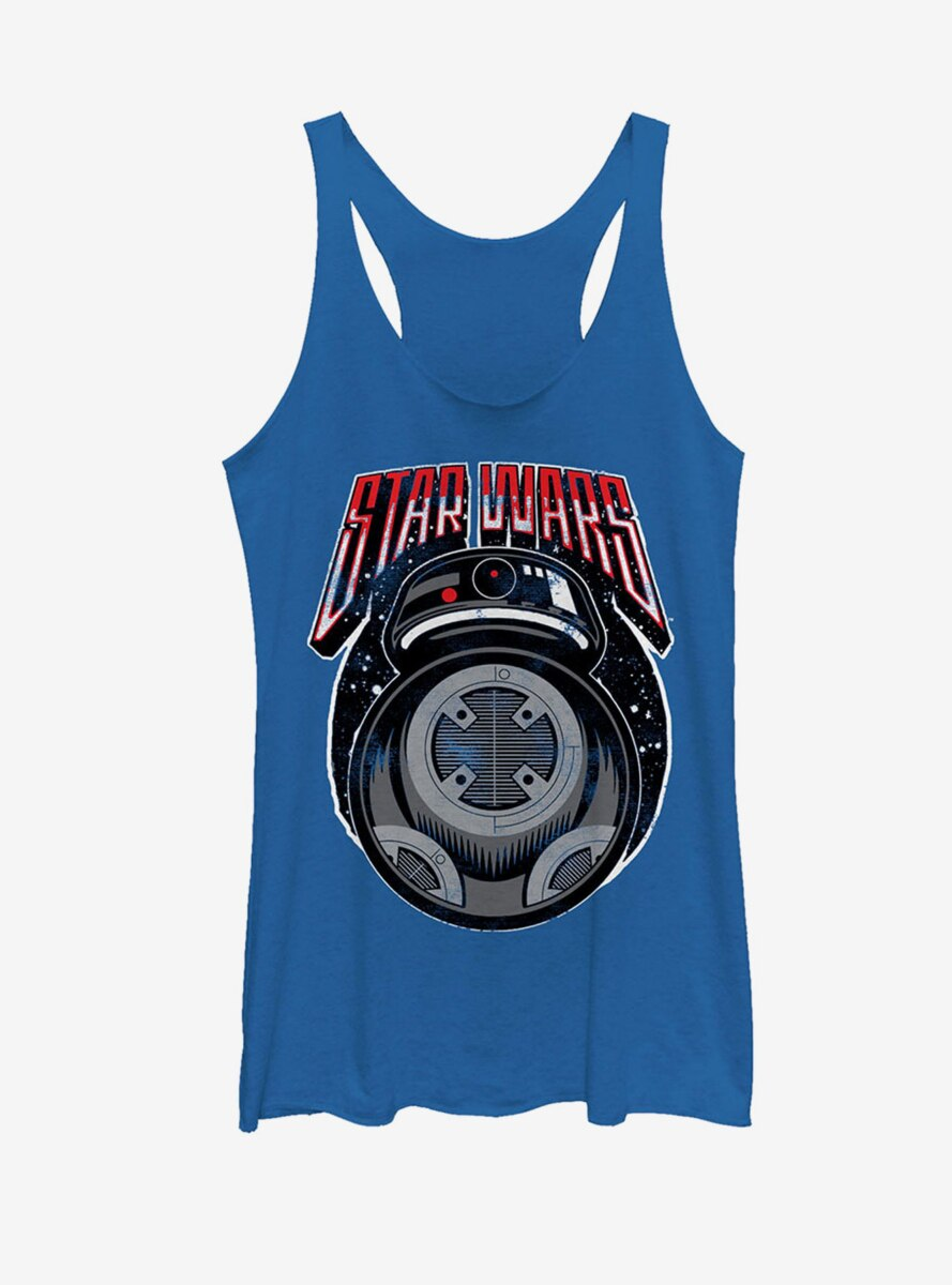 Star Wars Retro BB-9E Womens Tank