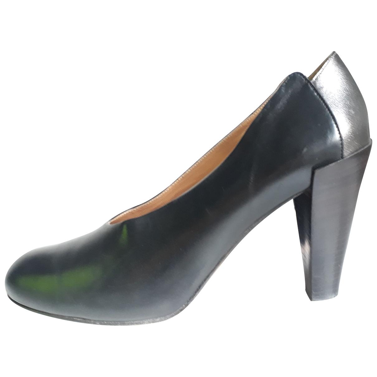 Veronique Branquinho - Escarpins   pour femme en cuir - noir