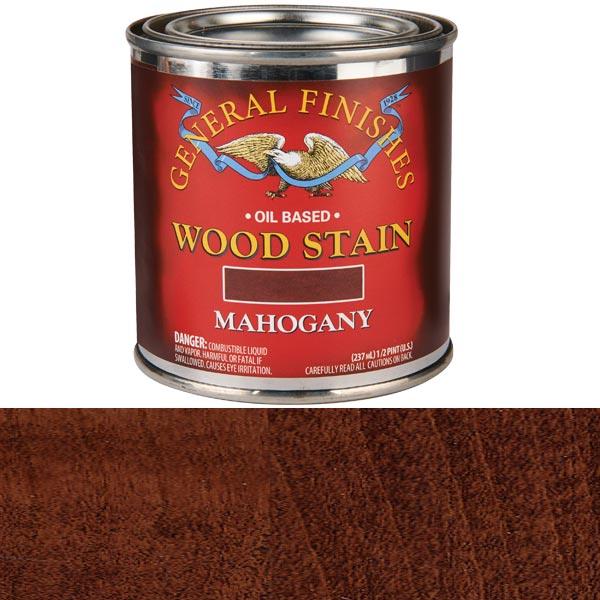 Mahogany Stain Solvent Based 1/2 Pint