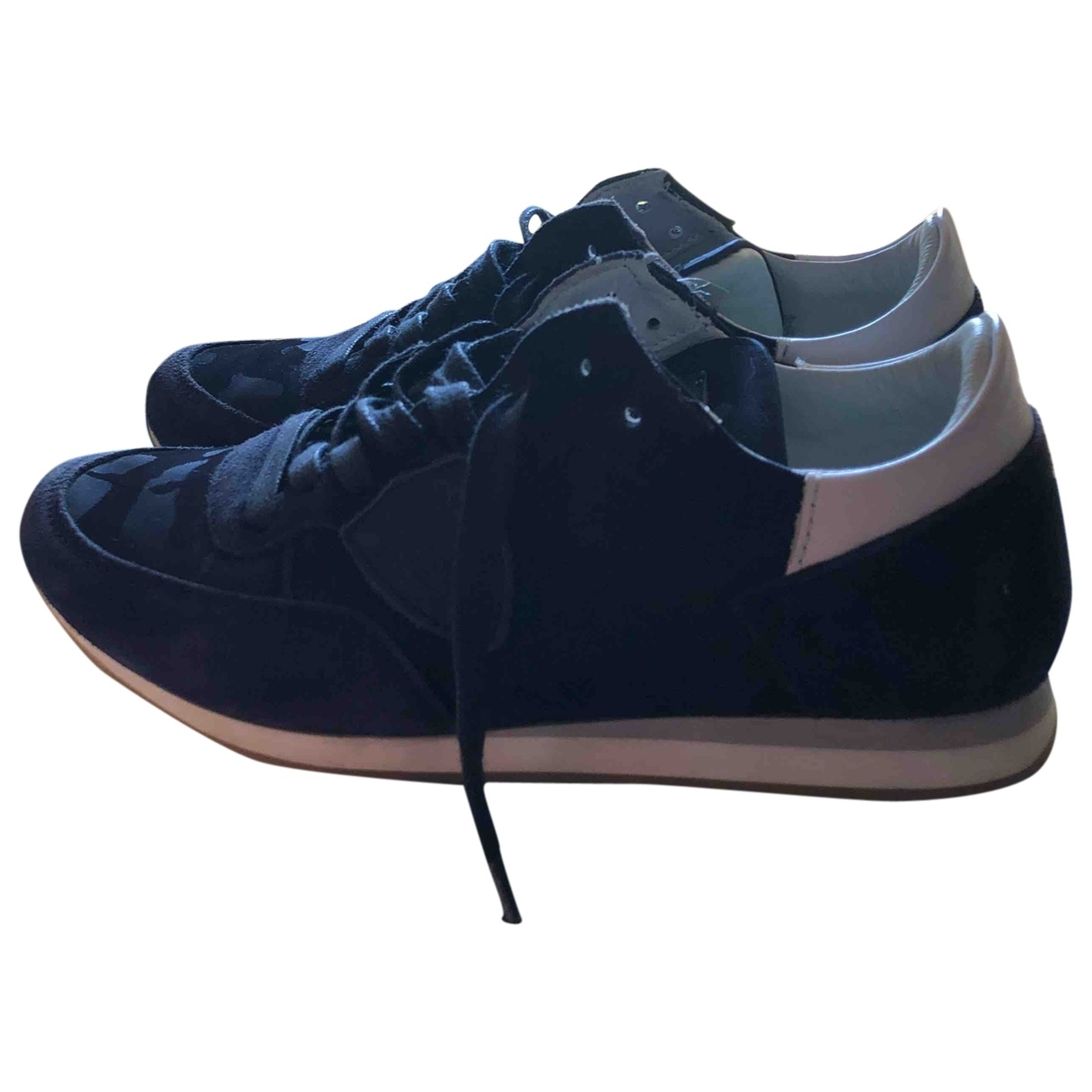 Philippe Model \N Navy Cloth Trainers for Kids 33 EU