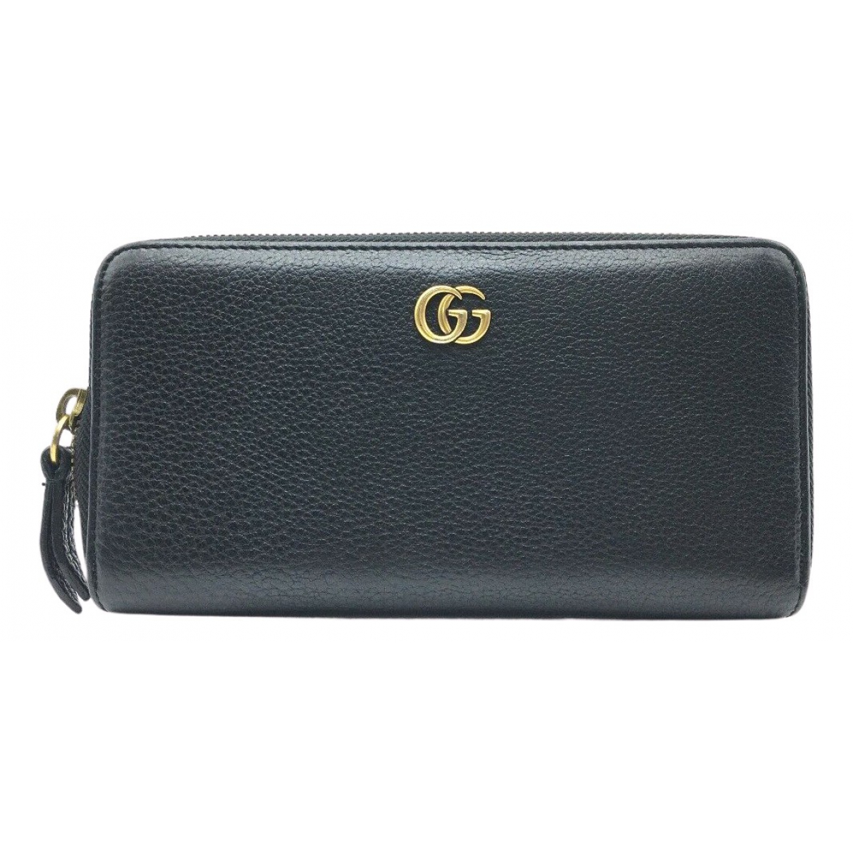 Gucci Continental Portemonnaie in  Schwarz Leder