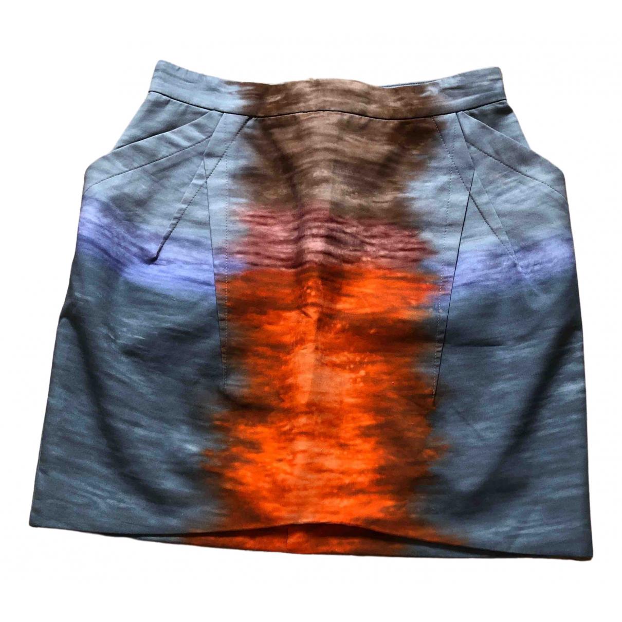 Peter Pilotto - Jupe   pour femme en coton - multicolore