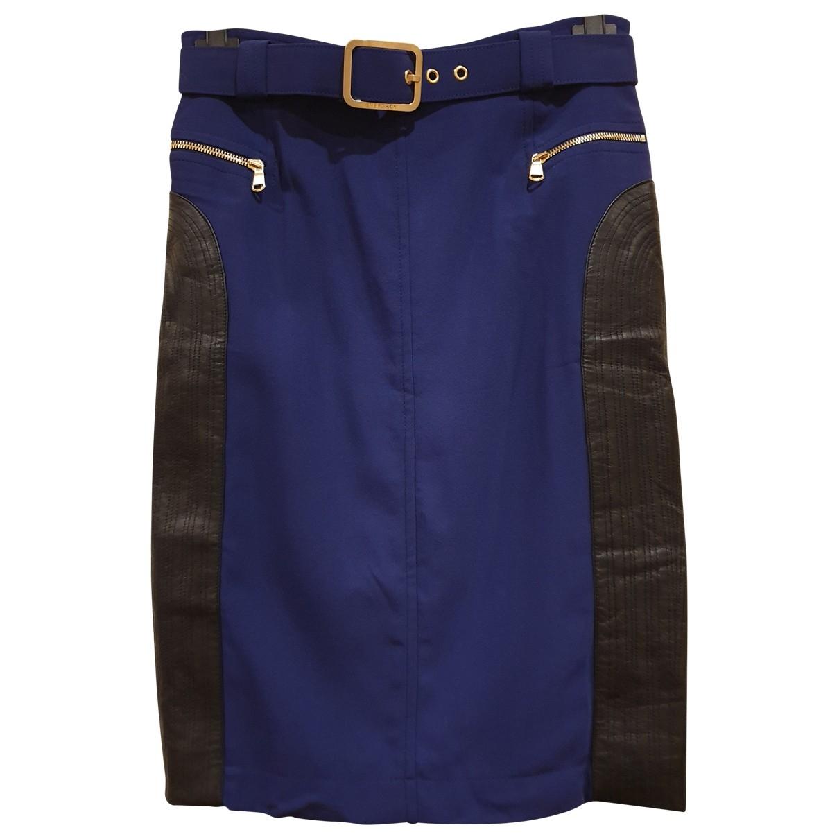 Versace \N Rocke in  Blau Viskose