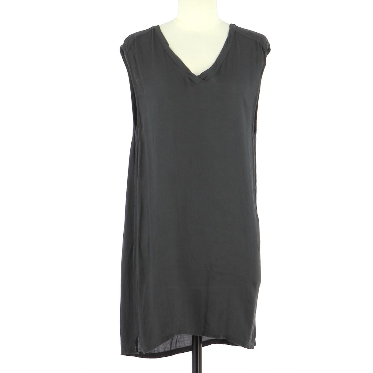 American Vintage \N Kleid in  Grau Viskose