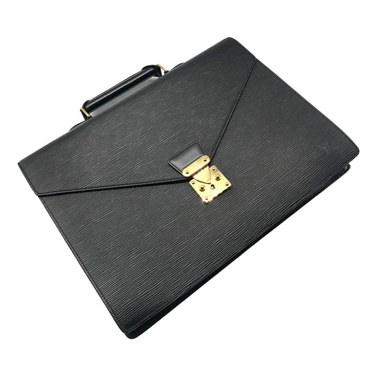 Louis Vuitton Laguito Gold Leather bag for Men \N
