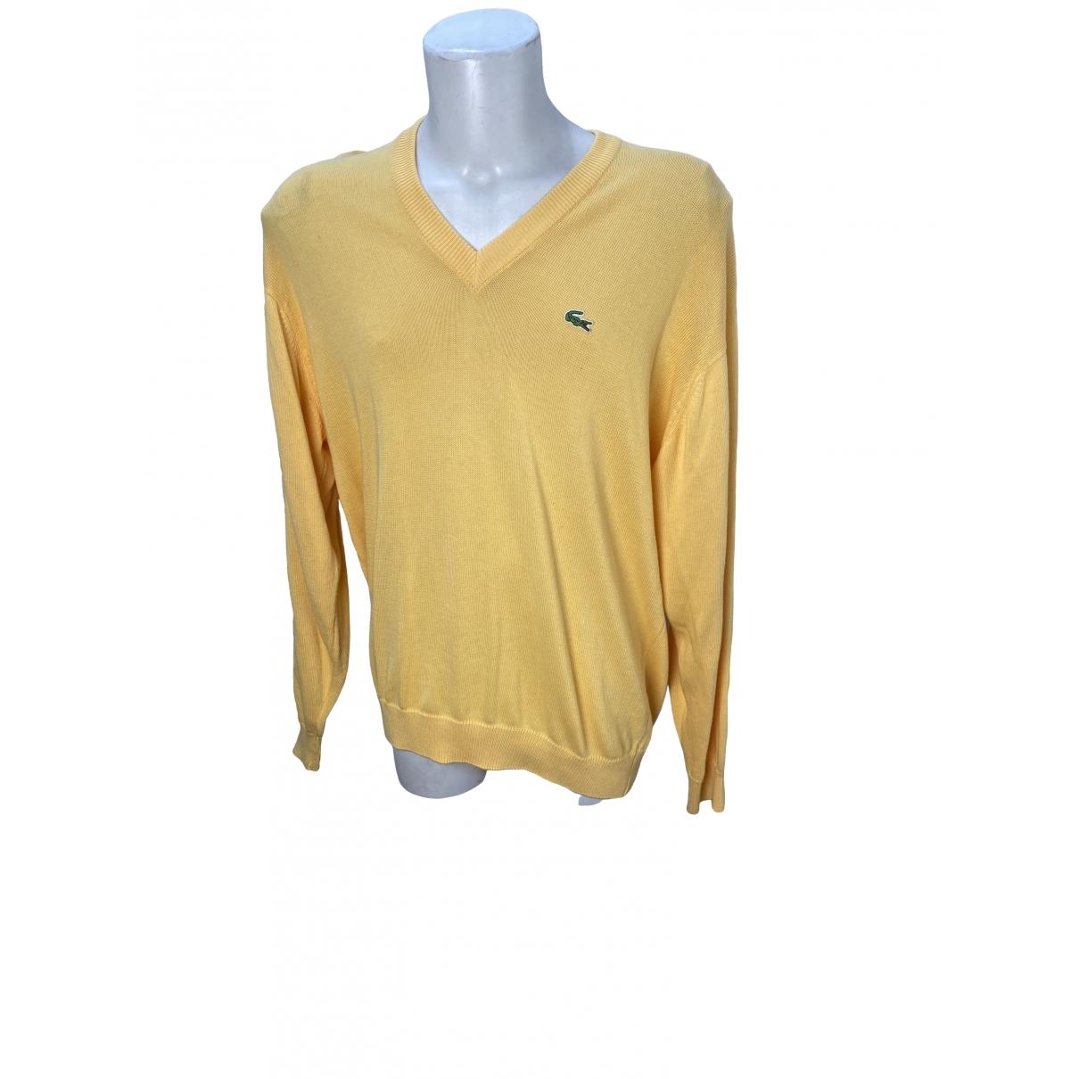 Lacoste \N Yellow Cotton Knitwear & Sweatshirts for Men XL International