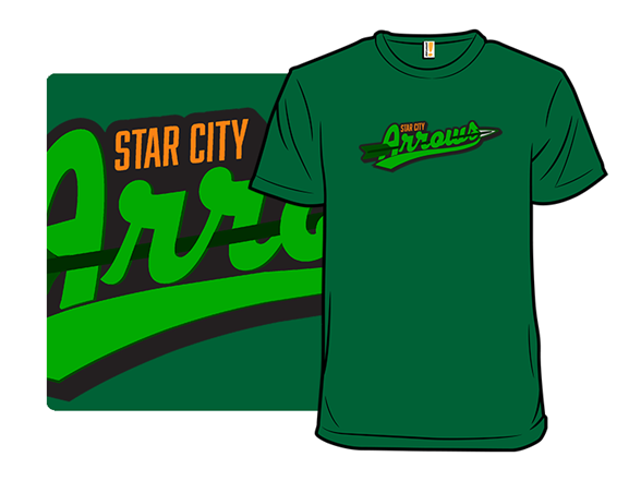 Star City Arrows T Shirt