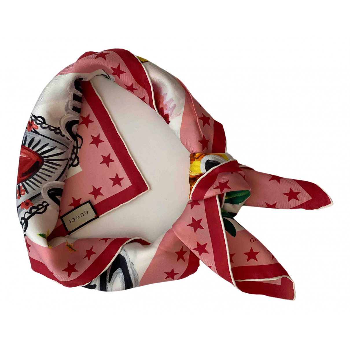 Gucci \N Multicolour Silk scarf for Women \N