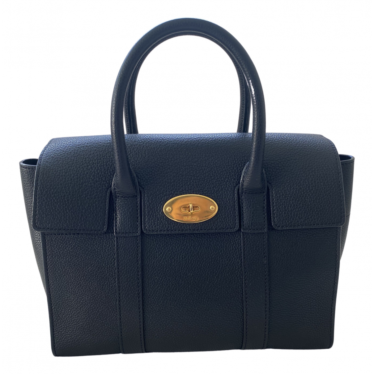 Mulberry Bayswater Small Black Leather handbag for Women \N