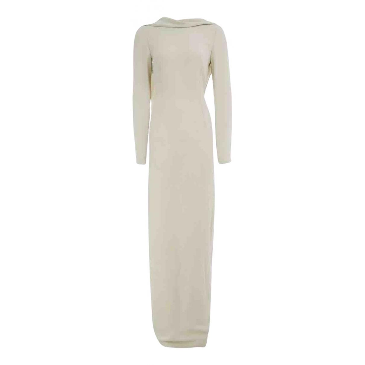 Stella Mccartney \N Ecru Silk dress for Women 42 IT