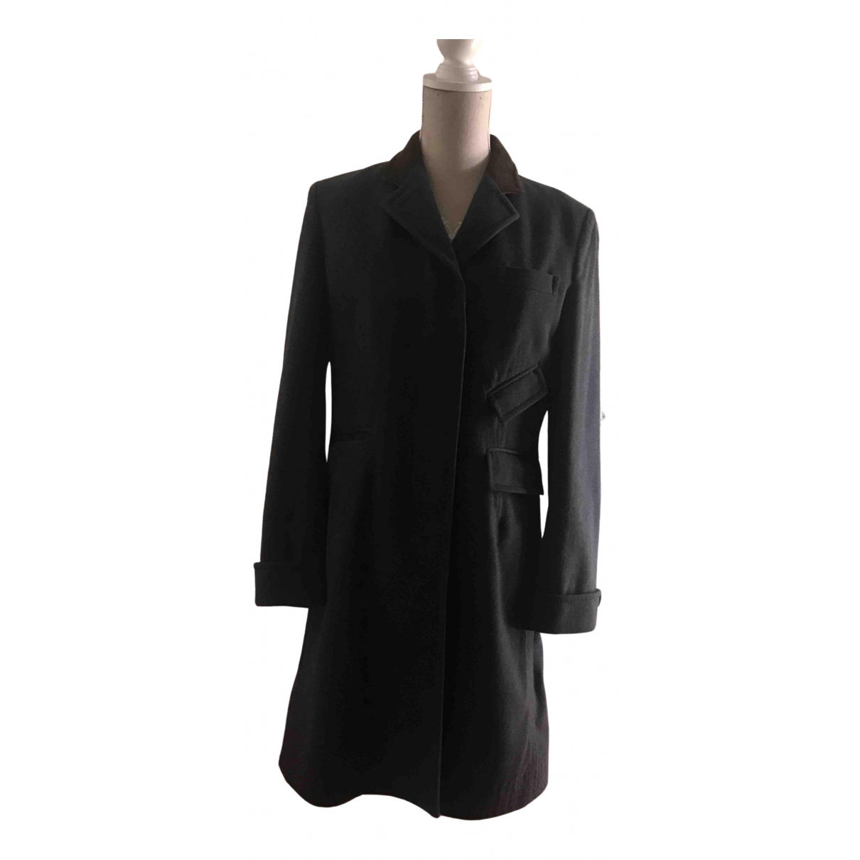Paul Smith - Manteau   pour femme en laine - bleu