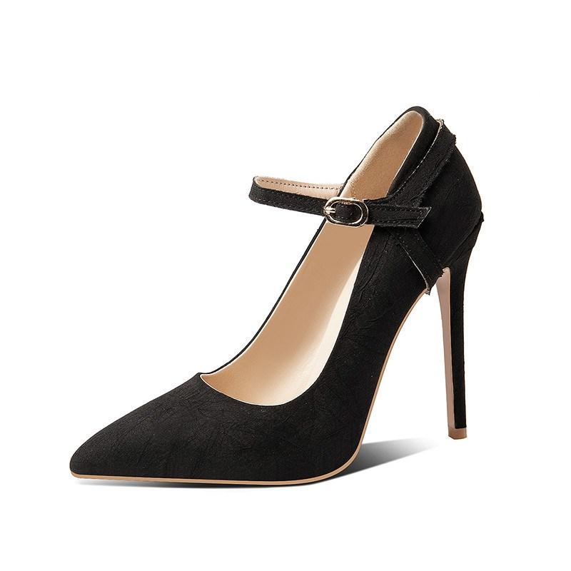 Ericdress Pointed Toe Slip-On Stiletto Women's Pumps