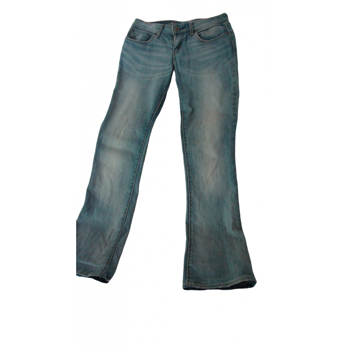 Levi's \N Blue Cotton - elasthane Jeans for Women 26 US