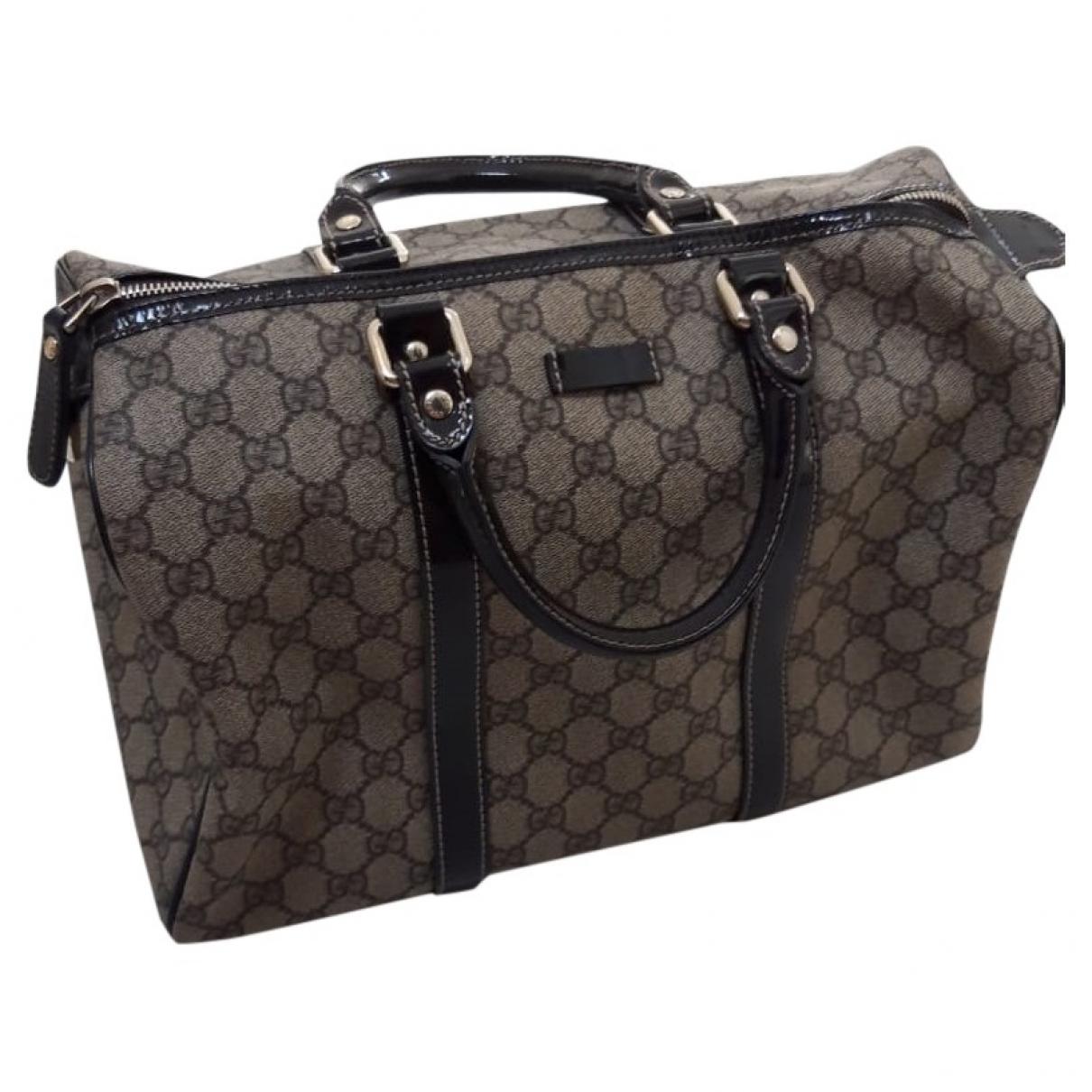 Gucci Boston Beige Cloth handbag for Women \N